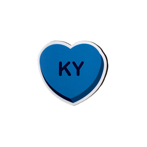 KY Heart - Sticker
