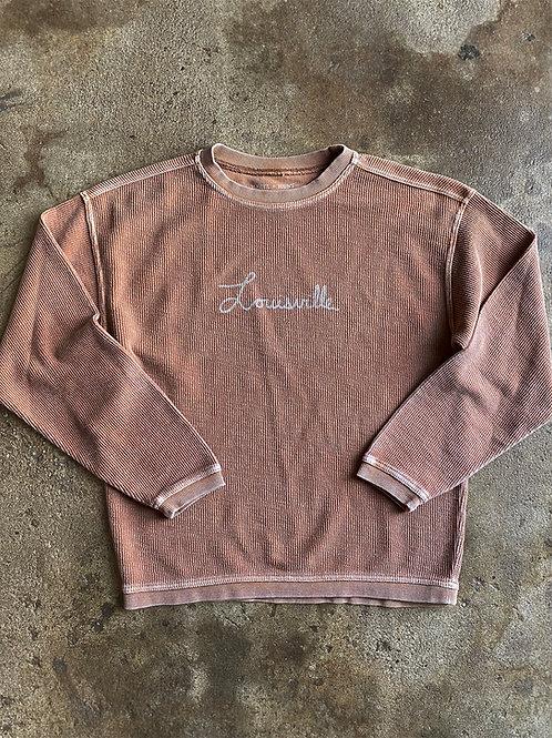 Louisville Corded Sweatshirt - Desert
