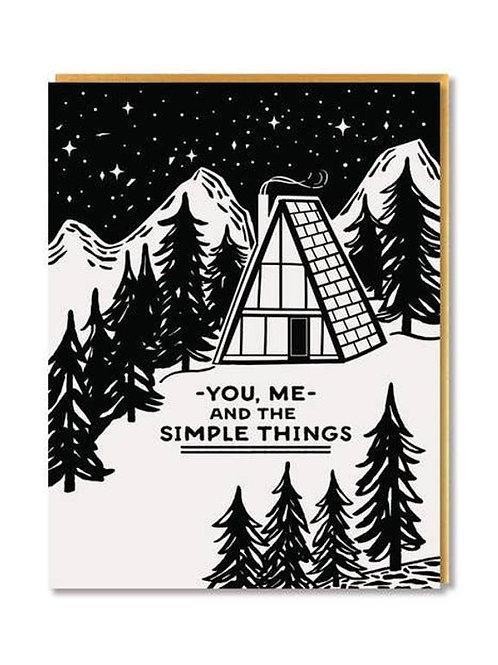 Simple Things Card