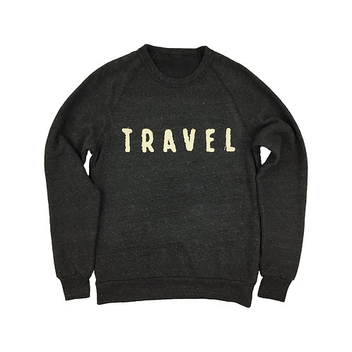 Travel Sewn Patch Sweatshirt