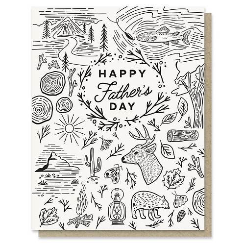 Father's Day Adventure Card
