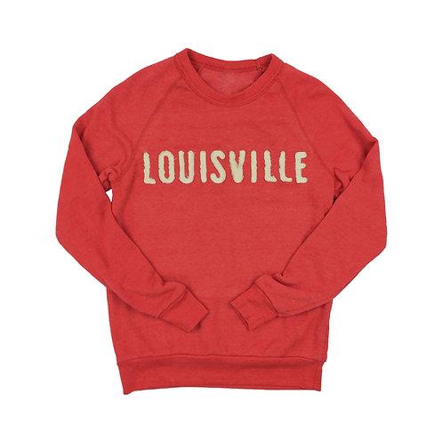 Louisville Sewn Patch Sweatshirt