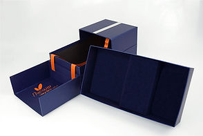 коробка шкатулка с двумя клапанами