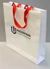 производство бумажных пакетов с логотипо