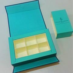 коробка для шоколадки раскладной крышкой