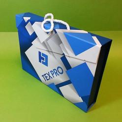коробка портфель из переплетного картона