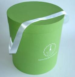 коробка подарочная круглая .JPG