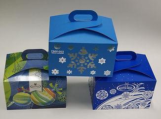 коробка для кекса