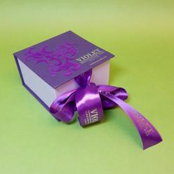 коробка шкатулка с жесткой основой