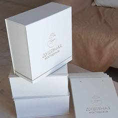коробка книжка из переплетного картона
