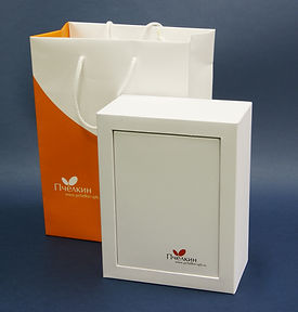 коробки с логотипом производство