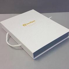 коробка шкатулка с ручкой