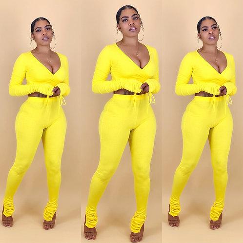 """""""Erianna"""" Yellow"""