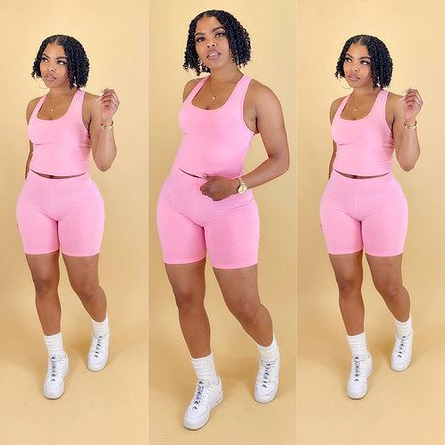 """Elissa"" Bright Pink"
