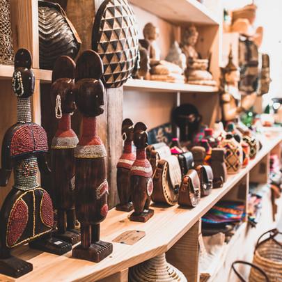 Cadeaux made in Africa pour Paris Match