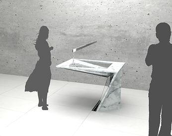 Waschtisch - spin drift - Arch. DI Georg Nothdurfter