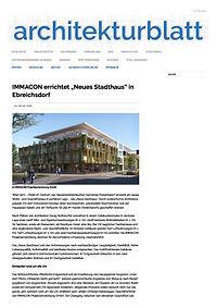 Architekturblatt - Neues Stadthaus - Ebreichsdorf _ Arch. DI Nothdurfter_01
