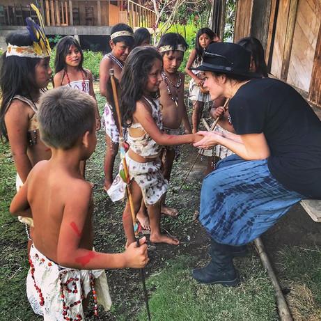 Children of the Queros community