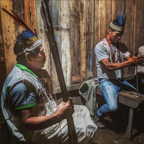 Wachiperi fire-making and storytelling