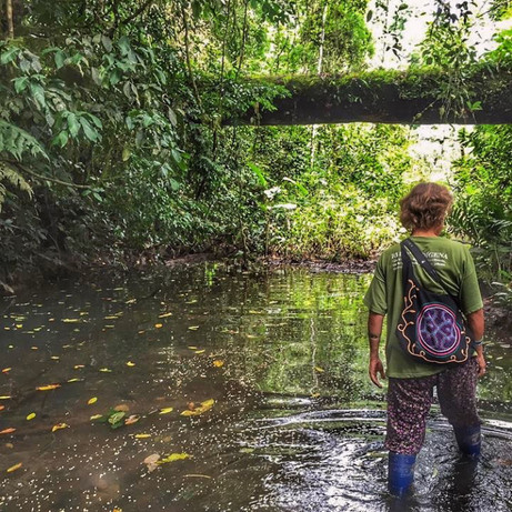 Forest Explorations are led by our Ayahuasquera Jessica (a former Manu tour guide with 15 years of experience)