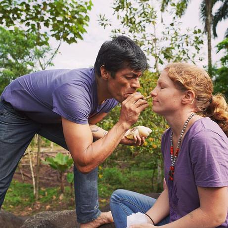 Seri, a traditional Wachiperi tobacco snuff