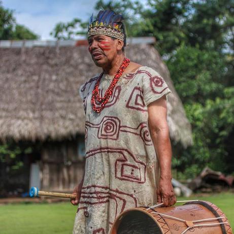 The schoolteacher for the Queros community