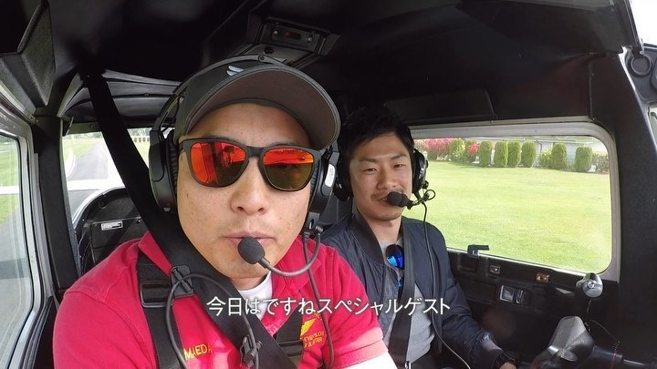 (Shogo's flight)  It's really interesting to see reactions of people I take to discovery flight at their take-offs. Some people just scream with excitement while others just smile without saying anything.  AeroZypanguProject provides the moment that