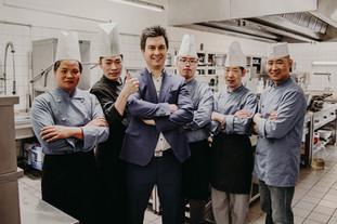 Küchenteam + Tim Urban