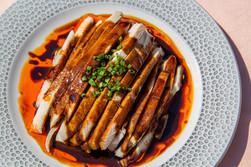 Hühnerfleisch in Sauce