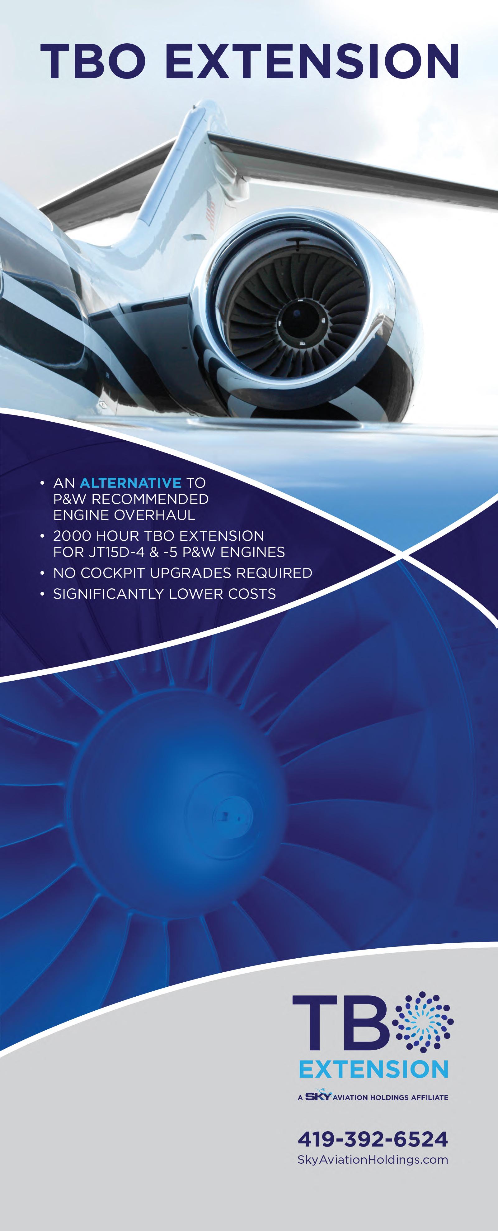 Sky Aviation | TBO Extension