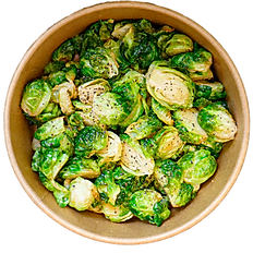 HONEY-FRIED BRUSSELS SPROUTS