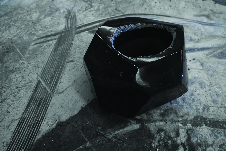 Notte Cristallo vase