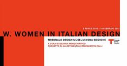 w.women in italian design