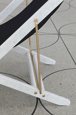 Adaptations - Marble deck chair