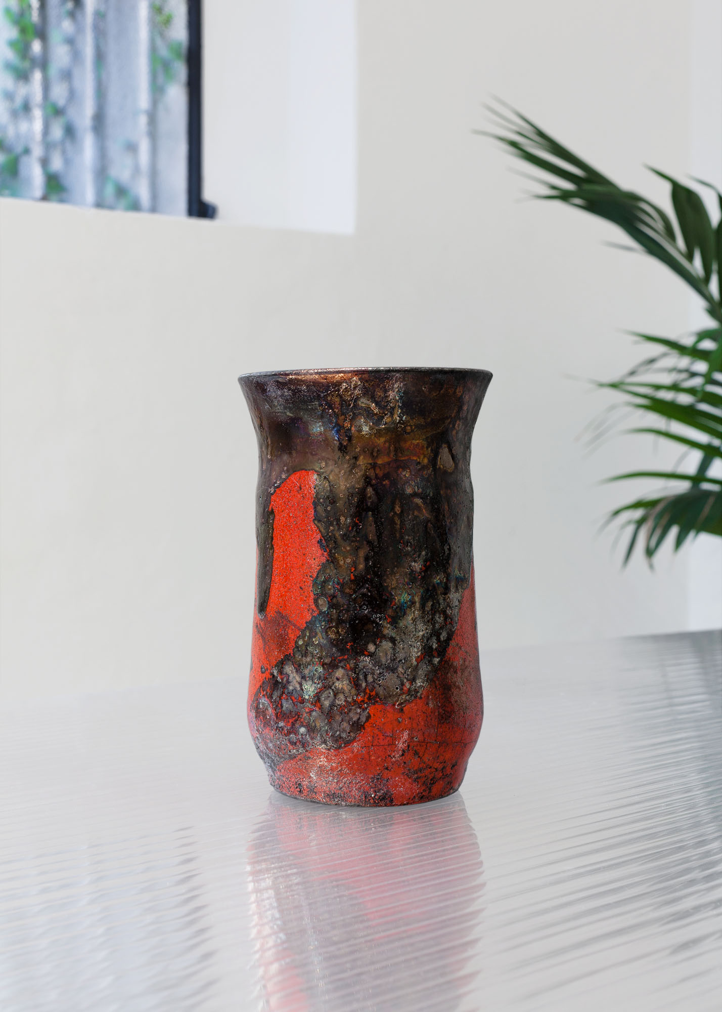 Naked raku - water reduction II