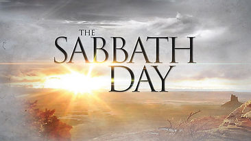 The Holy Sabbath