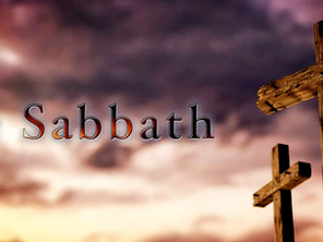 The Holy Sabbath !