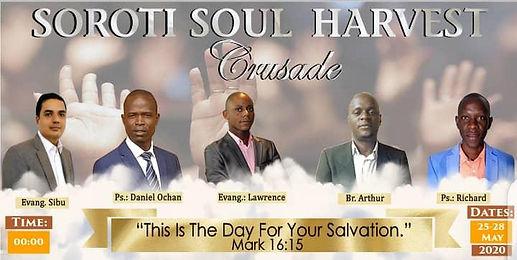 Soroti Soul Harvest Crusade CTM