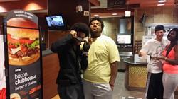 Enyx With Fan@McDonalds