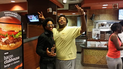 Enyx Photo With Fan@McDonalds