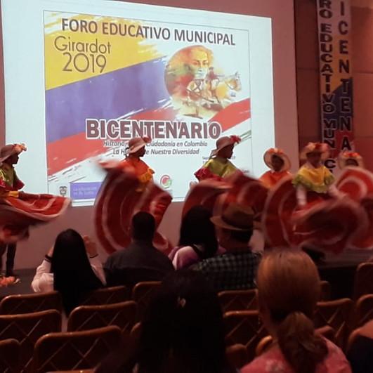 FORO EDUCATIVO MUNICIPAL BICENTENARIO