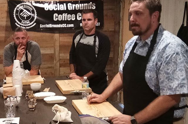 Barista and Roasters training course in