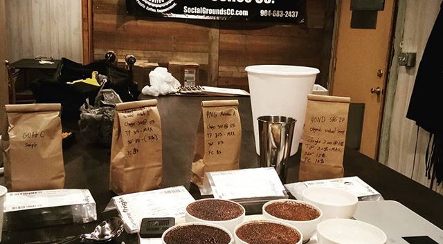 Jason _socialgroundscoffee_#coffeelab #