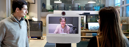 Ava Robotics Autonomous Telepresence Robots Collaborative Work Environment| Team Video Conferencing