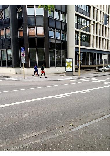Affiche milieu urbain