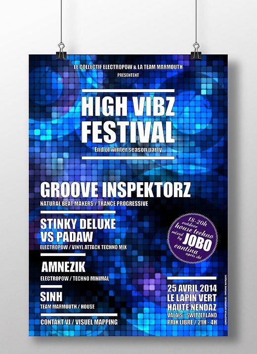 Affiche High Vibz Festival