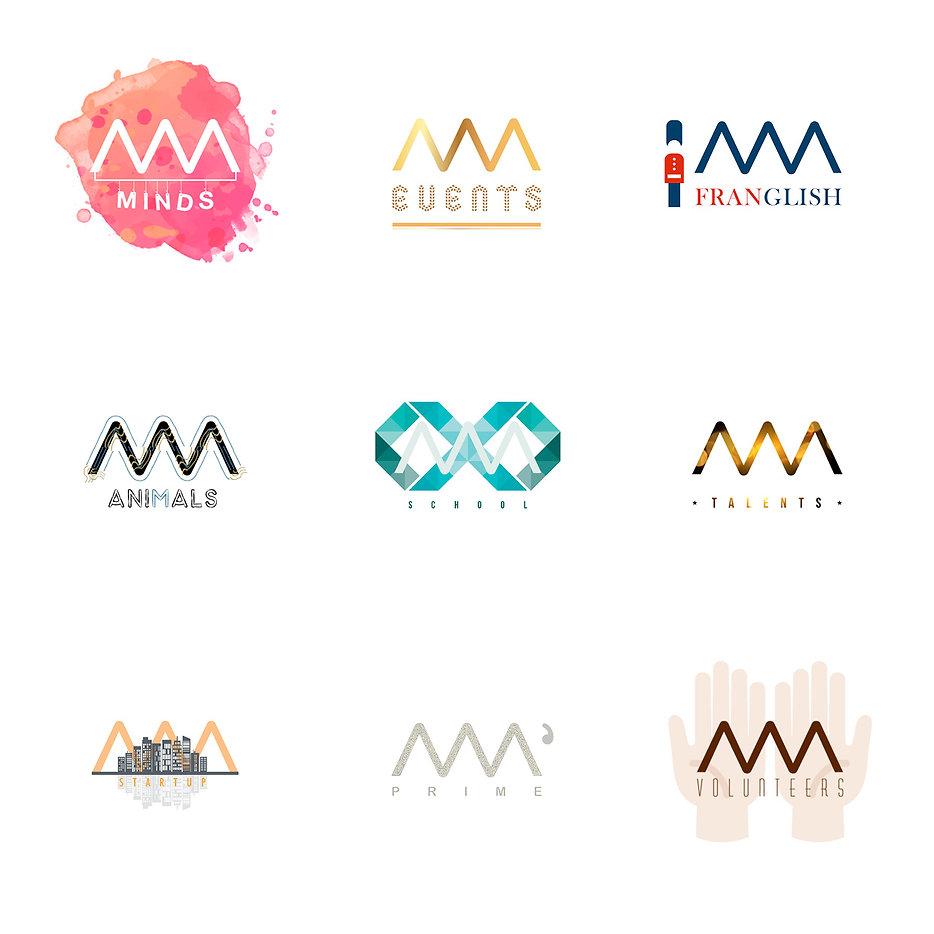 Déclinaisons de logos