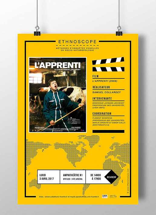 Affiche Ethnoscope #1