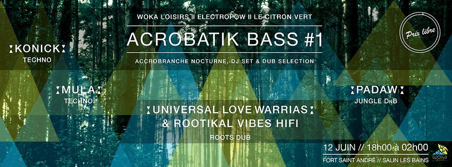 Couverture acrobatik bass