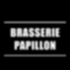 Encart brasserie Papillon